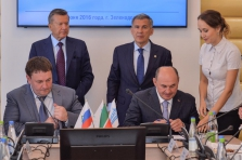 Business session on development of natural gas motor fuel market of the Republic of Tatarstan