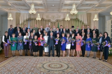 "Corporate employee awarded with the honorary title ""Honored machine-builder of the Republic of Tatarstan"""