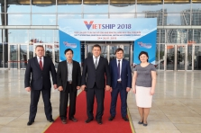 "Participation in the International Exhibition ""VietShip 2018"""