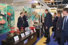 "Participation in the 18th  International exhibition ""Neftegas 2018"""