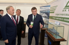 The demonstration of enterprise potential to the President of the Republic of Kazakhstan
